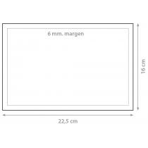 Dorsal 22,5x16cm