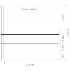 Dorsal 22,5x28cm